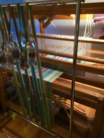 Weaving is just organized string under tension.